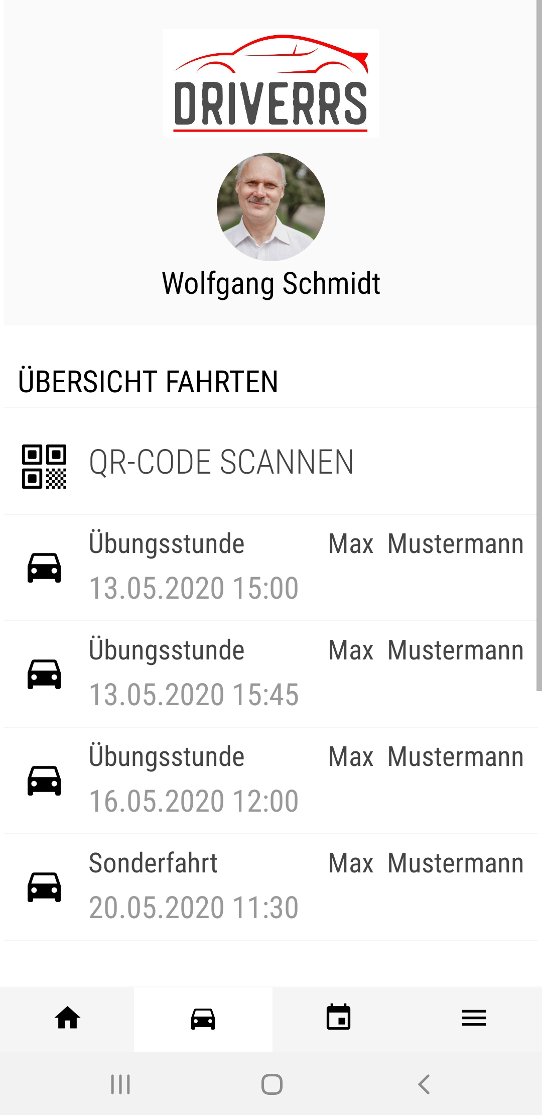 Fahrlehrer App mobil 1